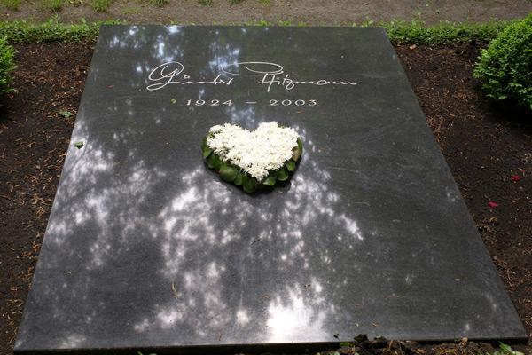 Grab von Günter Pfitzmann